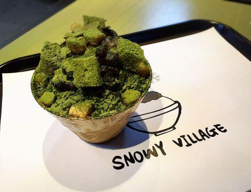 ร้าน Snowy Village Dessert Cafe น้ำแข็งไสสไตล์เกาหลี (พัทบิงซู)